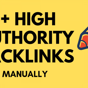 Buy High DA PA Backlinks