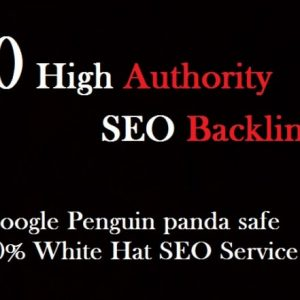 Buy 60 White Hat High Quality SEO Backlinks