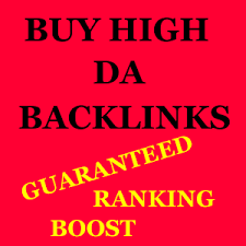 Buy Backlinks - Buy High DA PA Backlinks