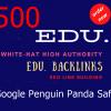 Buy 500 High Authority Edu Backlinks