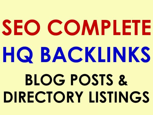 1 Month SEO Package - Buy 100 Blog Posts and 50 Directory Backlinks