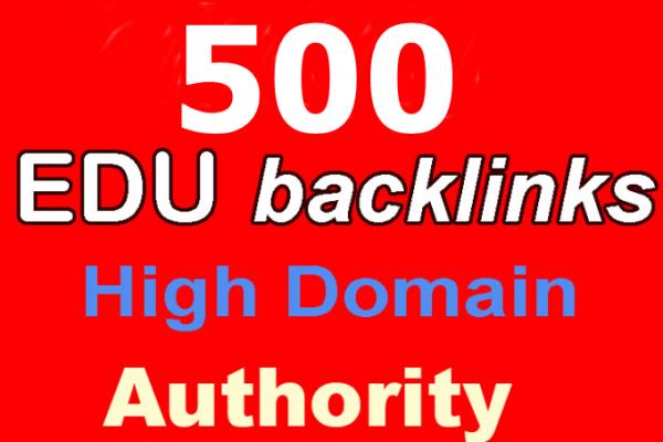 Buy 500 Edu Backlinks