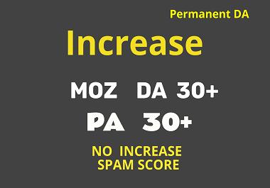 Increase Domain Authority to 30 Plus - Increase DA to 30 Plus